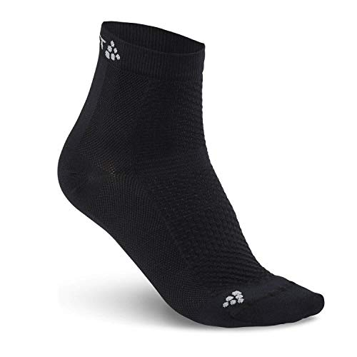 Craft COOL MID 2-Pack Sock, Schwarz, 34/36