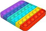 Lseeka - Giocattolo antistress Push Pop Bubble Sensory Fidget, giocattolo da schiacciare, ...