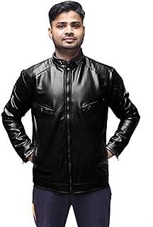 Men's Regular Jacket (bholakumar318_Black_40)