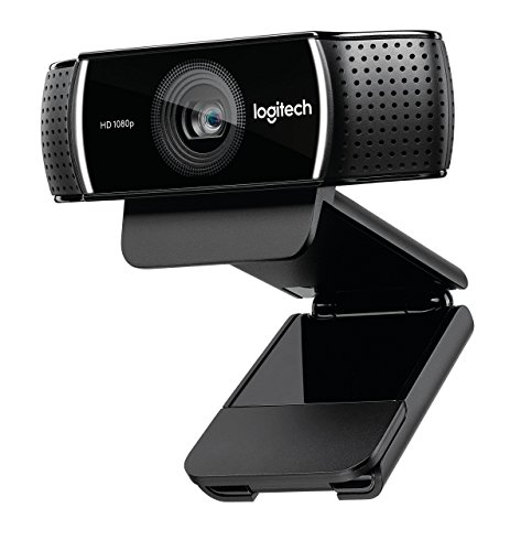 Logitech C922x Pro Stream Webcam Full 1080p HD Camera Background Replacement Technology for YouTube or Twitch Streaming (Renewed)