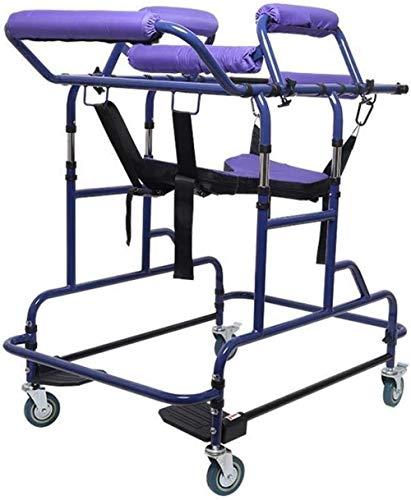 ZHJING Gehgestell Ältere behinderte Erwachsene Reisenden Hemiplegia Reha-Gerät Stehen Ältere Gehhilfe Multi-Funktions-Laufgestell