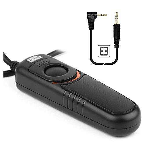 PIXEL RC-201/E3 Cable Disparador Mando a Distancia Disparador Remoto inalámbrico para Canon EOS cámaras