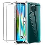 Hülle kompatibel mit Motorola Moto G9 Play, Weich