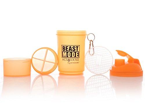 My 60 Minutes Orange Gym Shaker 500 ml (MM-S3-809)