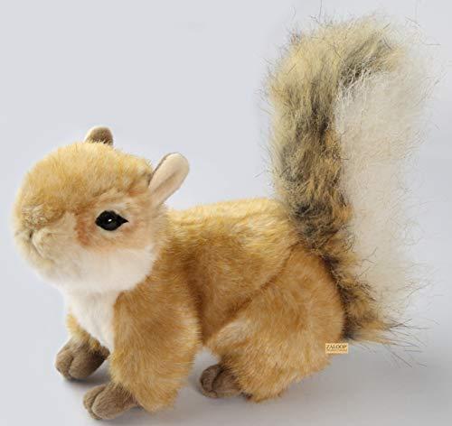 Zaloop Eichhörnchen ca 23 cm Plüschtier Kuscheltier Stofftier D2
