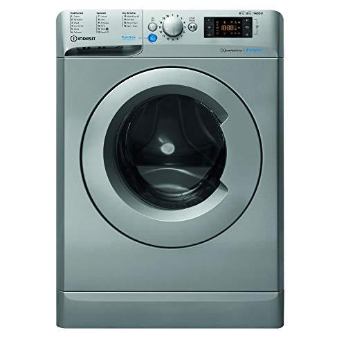 Indesit Innex 8kg Wash 6kg Dry 1400rpm Freestanding Washer Dryer - Silver