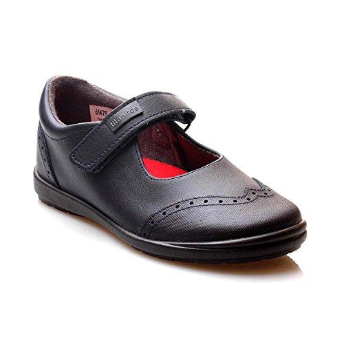 Titanitos Zapatos Colegiales Lavables niña Azul Marino FEBE (Talla 32)