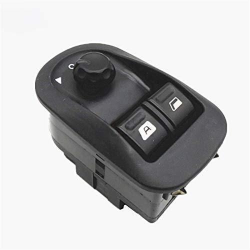 OLDJTK Interruptor de la Ventana eléctrica del Interruptor Master Button Control de Windows Mirror Switch 6554.WA for Peugeot 206 2002-2013 2014 2015 2016