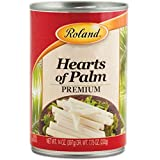 Roland Foods Canned Premium Hearts of Palm, Specialty Imported Food, 14-Ounce Can
