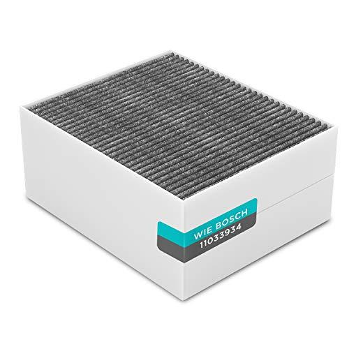 Filter Kohlefilter Clean Air Filter Ersatz für Bosch Siemens Neff 11033934 / LZ56200 / DSZ5201 / Z5170X1 Aktivkohlefilter 225x190mm Ersatzfilter für Dunstabzugshaube Dunstabzugshaubenzubehör