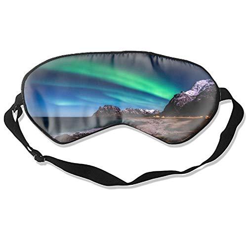 Norwegen Inseln Berge Meer Augenmaske Augenbinde Eyeshade Augenabdeckung für Reise Nickerchen Meditation
