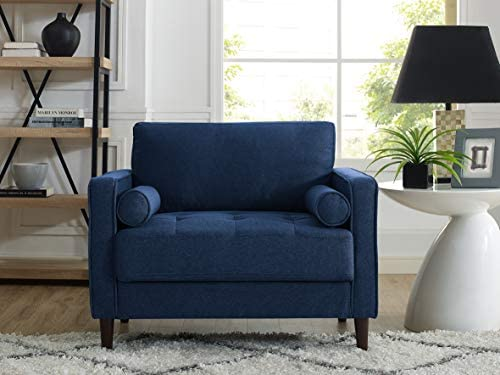 Best Lifestyle Solutions Lexington Chair in Navy Blue