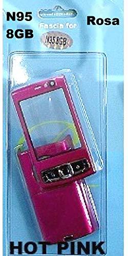 Housing alloggiamento Cover per Nokia N95 8GB full pink with keypad ati...