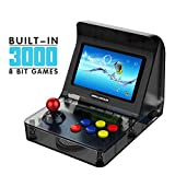 H/L 3000 Classic Video Game Mini Arcade, Tiny Arcade-Maschine Mit Dual-Core-Prozessor Entwurf...