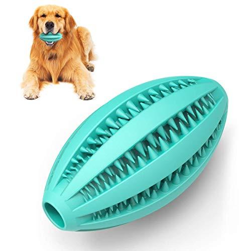 Vunake Hundespielzeug Ball für mittelgroße Hunde kleine Hunde große Hunde unzerstörbar ungiftig kauspielzeug Intelligenz IQ Training Zahnreinigung Naturkautschuk Dog Snack Spielzeug Pet Hund Haustier