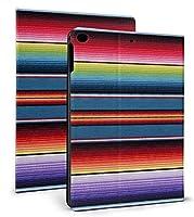 カラフルなメキシコの毛布ストライプ iPad 9.7 ケース 2017/2018 保護カバー iPad 2017/2018 /Pro 9.7/air/air 2対応 iPad Mini 5 ケース 第5世代 2019モデル 独占販売 iPad Mini5 第5世代 ケース iPad 7.9 インチ ケース iPad Mini 2019 ケース iPad Mini 5 2019年発売 カバー オートスリープ 耐衝撃 スタンド アイパッド ミニ 5 第5世代 7.9 インチ ケース カバー iPad Mini5 5世代 7.9 ケース