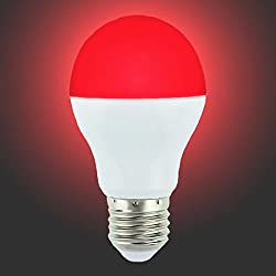 LIGHTEU 1x WLAN LED Lampe original, 6 W, E27, dimmbar, Farbwechsel Glühbirne, warmweiß LT-6W-RGB