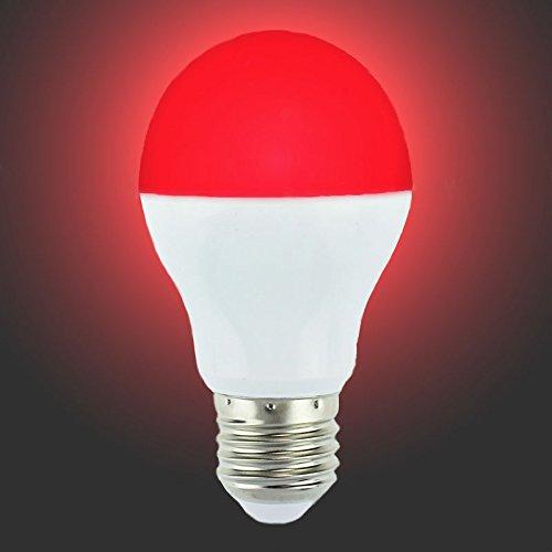Lighteu, 1 x Ampoule LED WiFi Multicolore RVB/RGB plus blanc chaud, 6W/E27, Milight original®, intensité variable (6W/E27) [Classe énergétique A+]
