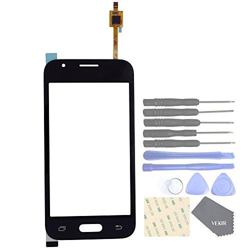VEKIR Reemplazo de la Lente de Cristal táctil de Pantalla para Samsung Galaxy J1 Mini Prime J106F J106B J106H (Black)