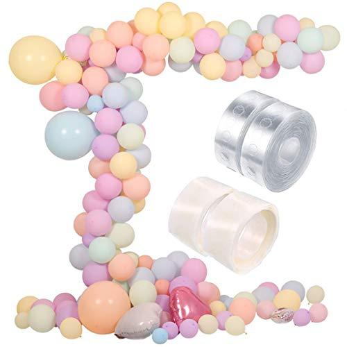 Longra Luchtballonnen pastel, helium luchtballonnen set van Ballon pastel luchtballonnen pastelkleuren mix, latex ballonnen pastel voor feestdecoratie pastelkleuren, pastel decoratie bruiloft