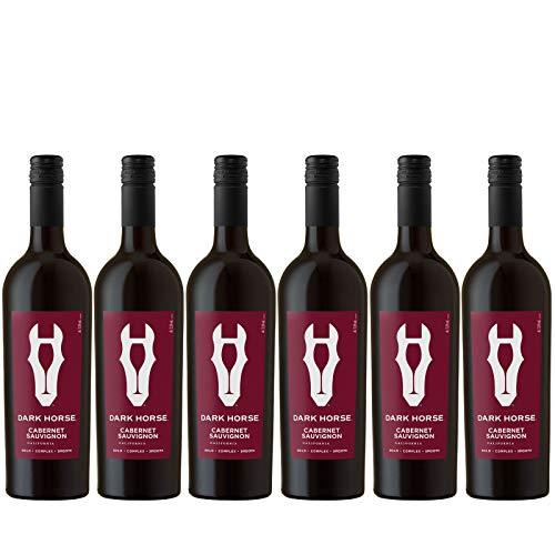6x 0,75l - 2016er - Dark Horse - Cabernet Sauvignon - Kalifornien - Rotwein trocken