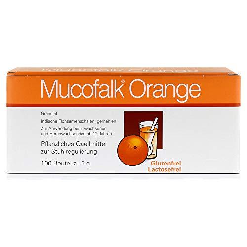 MUCOFALK Orange Gran.z.Herst.e.Susp.z.Einn.Beutel 100 St