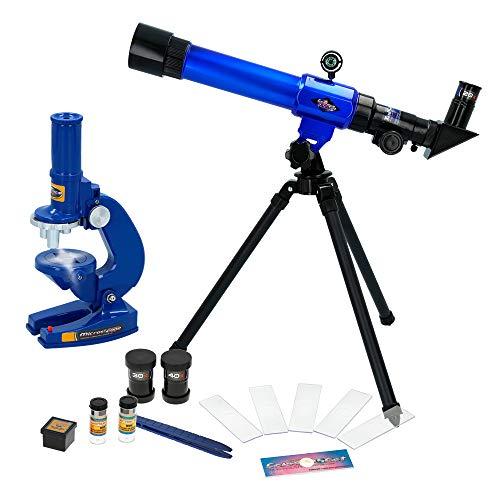 ColorBaby - Set Telescopio Microscopio Kidz Corner