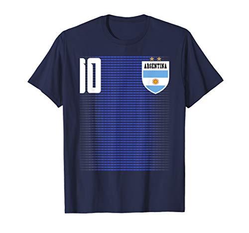 Argentina Futbol Soccer #10 Jersey Shirt Tee T-Shirt