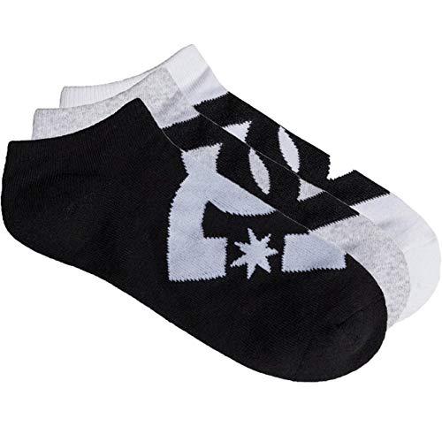 DC Ankle 3er Pack Socken (40-45, Mehrfarbig)