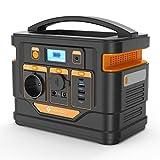Générateur Électrique Portable 296Wh 80000mAh, NOVOO Batterie Externe avec Prise de Courant AC 300W Pure Sine Wave/Type-C PD 45W/Allume-Cigare/3XUSB-A Alimentation de Secours pour Voyage Camping