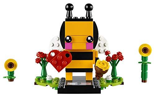 LEGO BrickHeadz Valentine's Bee 40270 Building Kit (140...