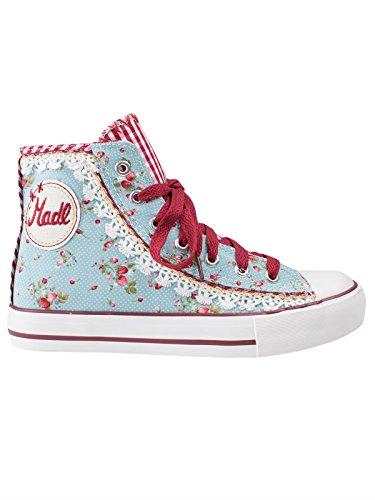 Krüger MADL Strawberry Damen Hohe Sneakers, Mehrfarbig (hellblau / 81), 36