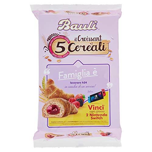 Bauli - Croissant 5 Cereali Mora/Lampone - 300 g