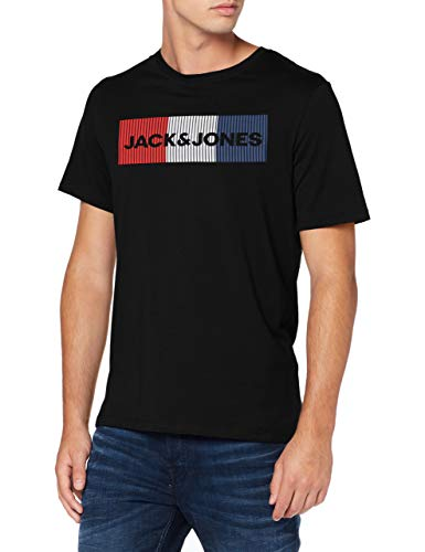 Jack & Jones JJECORP Logo Tee SS O-Neck Noos T-Shirt, Noir, XL Homme