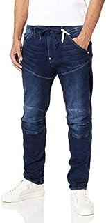 G-Star RAW(ジースターロゥ) メンズ スウェット ジーンズ ジョグデニム Elwood テーパードジーンズ D06632-8605