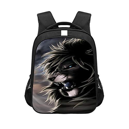 CJIUDI Anime Cartoon Game School Bag,Boy and Teenager Cartoon Backpack Waterproof School Backpack,Light and Stylish Backpack with Headphone Jack,Suitable for 15.6 Inch Laptop,Black 10