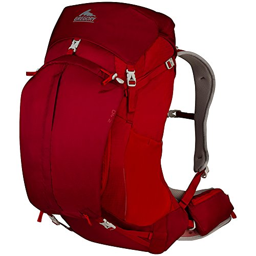 Gregory Mountain Products Z 40 Backpack, Spark Red, Small