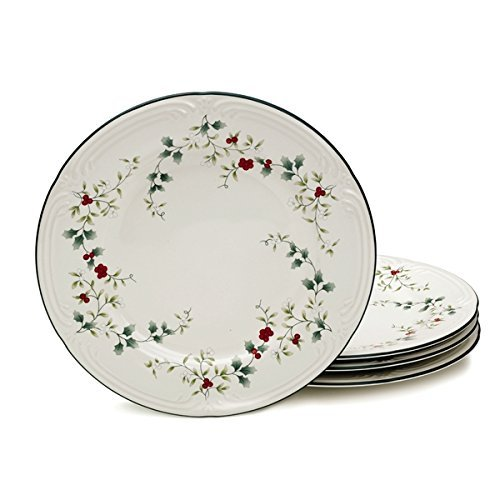 Pfaltzgraff Winterberry Dinner Plates (Set of 4)