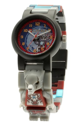 LEGO 9000423 - Reloj analógico para niño, Correa de plástico Multicolor
