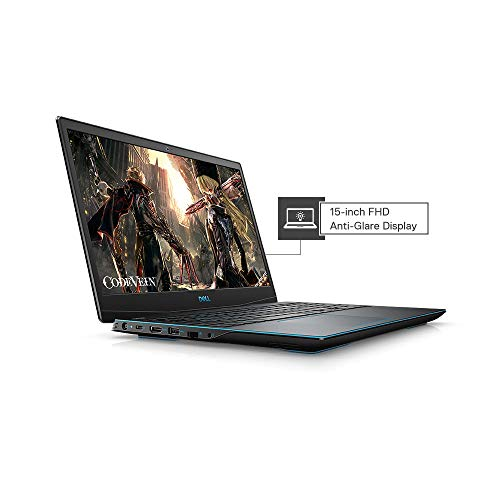 Dell Gaming-G3 3590 15.6-inch FHD Laptop (9th Gen Core i7-9750H/8GB/512GB SSD/Windows 10 + MS Office/4GB NVIDIA 1650 Graphics), Black
