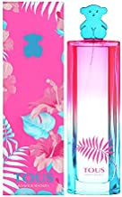 TOUS Bonjour Senorita Eau de Toilette Spray for Women, 3 Ounce, Multicolor (43004000)
