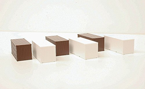 Herpa eXtra 364621 Container-Set 20ft. Spur H0