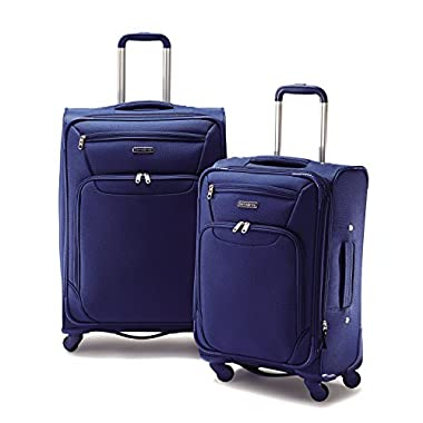 Samsonite 2 Piece Spinner Set Royal Blue