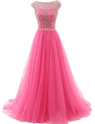 Prom Dress Long Formal Evening Gowns Tulle Party Dresses Quinceanera...