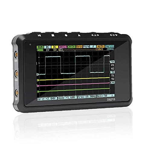 4 Channel 100ms/s Mini Nano Dso213 Ds213 Professional Portable Digital Oscilloscope Digital Dso 213 Ds 213 with X1 & X10 Probe