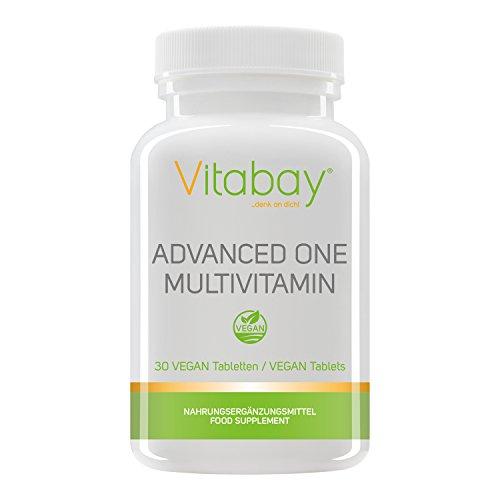 Immunbooster Advanced One Multivitamin - 30 vegane Tabletten - Nährstoff-Rundumversorgung