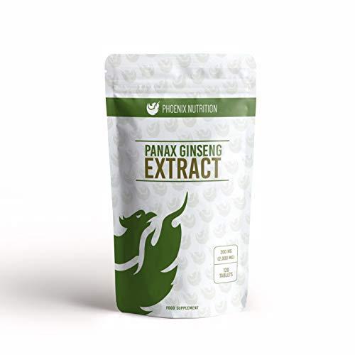 Panax Ginseng Extract 2,000 mg x 120 Tablets - 20% ginsenosides