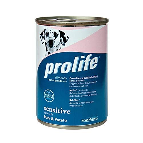 PROLIFE Sensitive Maiale e Patate 400 g [CANE]