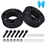 BDFHYK Front Leveling Kit for Ford F150 3', 6061 T6 Aluminum Billet Strut Spacers Compatible with 2004-2021 Ford F150 4WD/2WD, Does Not Fit Raptor