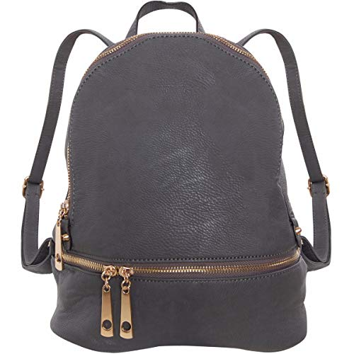 ELEGANT DESIGN & SUPERIOR QUALITY - Go for a hands-free look with this everyday backpack featuring multiple compartments and pockets to keep your essentials organized and secure. Featuring a top-zip closure, adjustable straps, two interior pockets an...